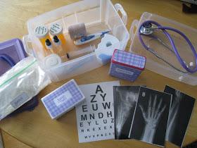 faz de conta medico- kit de medico