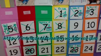 foto calendário zoom números com nome para blog