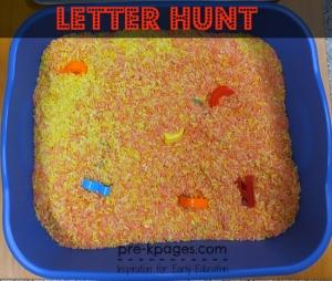 nome- caçadores de letras