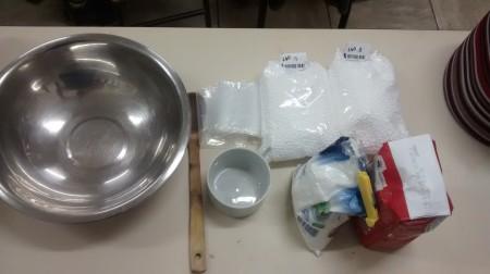 massinha de modelar com bolinhas de isopor 2
