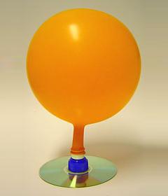 balão hovercraft